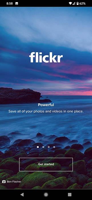 Copia de seguridad de fotos Flickr