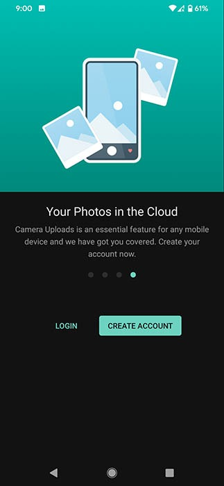 Copia de seguridad de fotos Mega