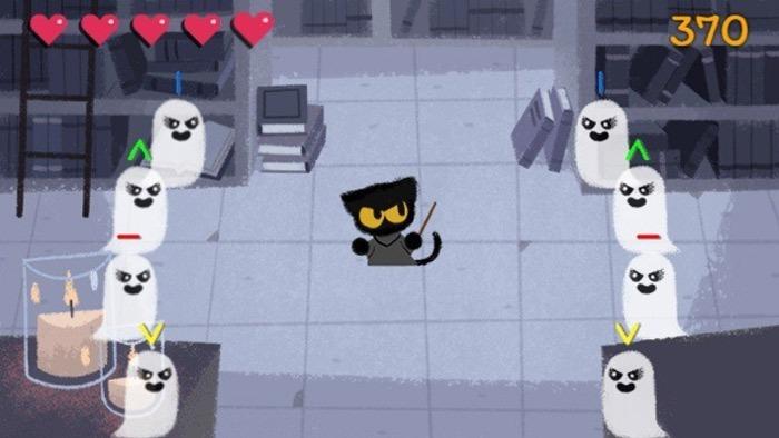 Academia oculta de Google Games Magic Cat