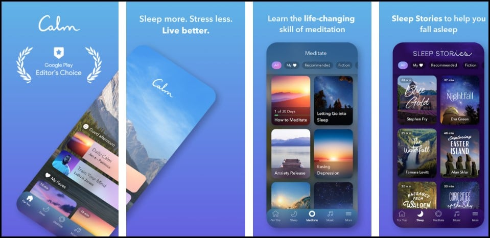 Las 12 mejores aplicaciones para dormir para mejorar tu sueño 2021