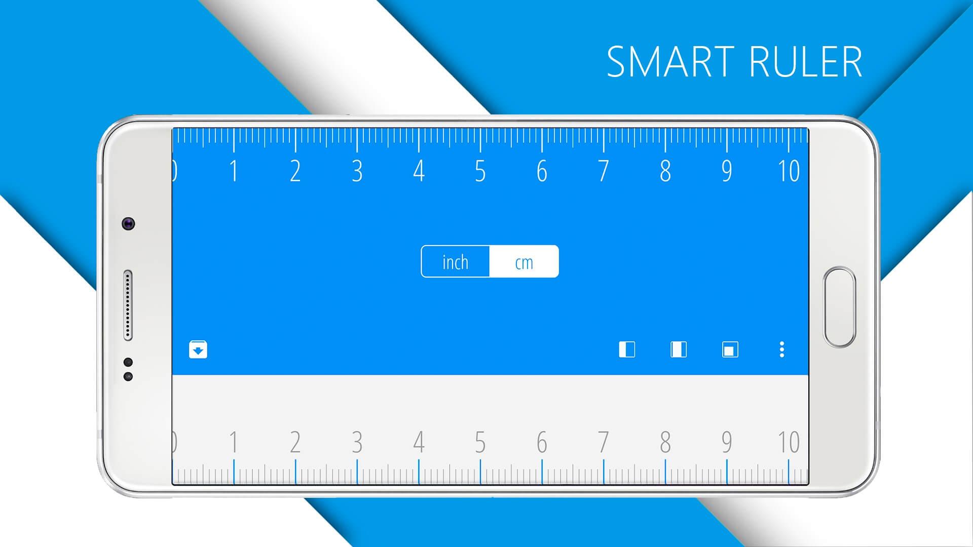 Android-ruler-mearung-app-phone la mejor aplicación de medición
