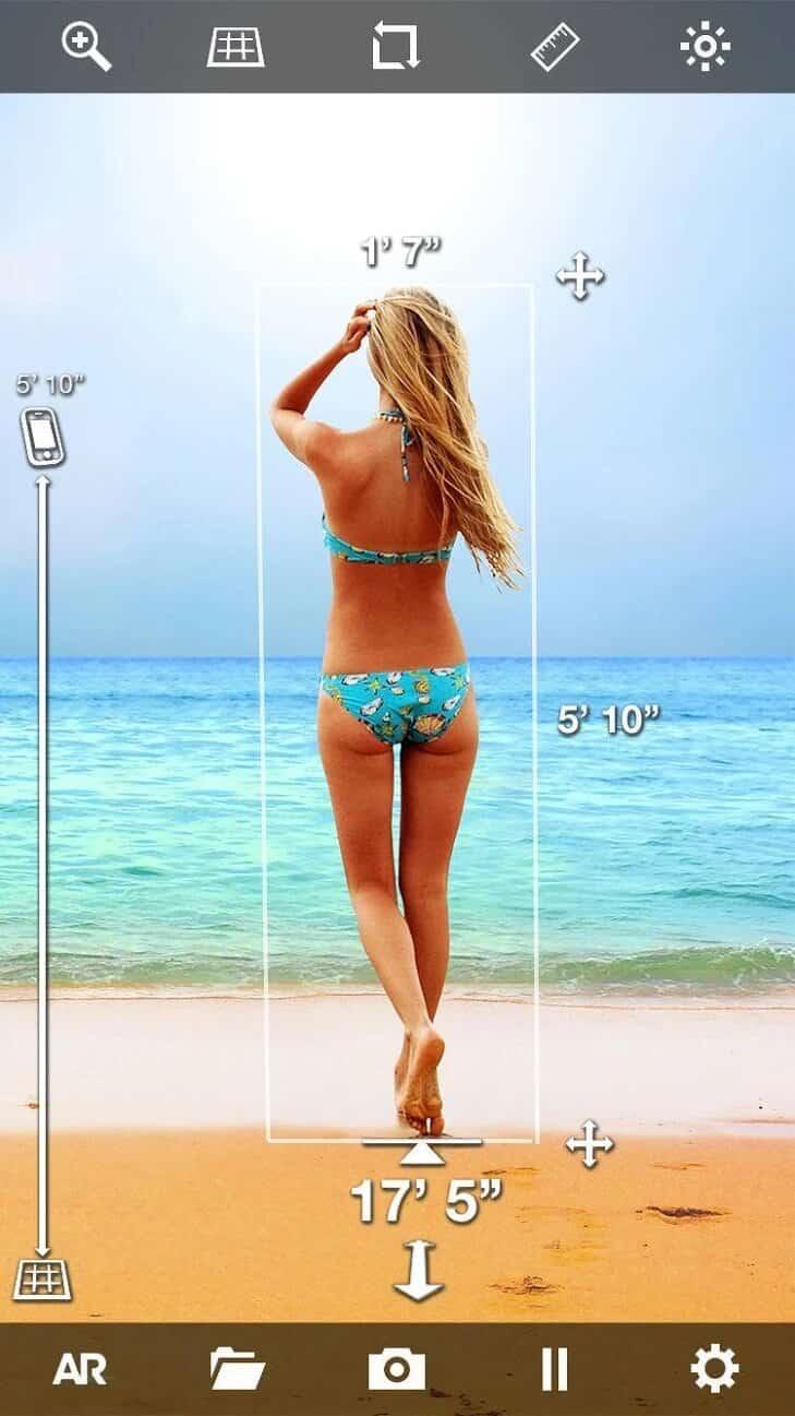 EasyMeasure - Aplicación de medición de distancia de la cámara