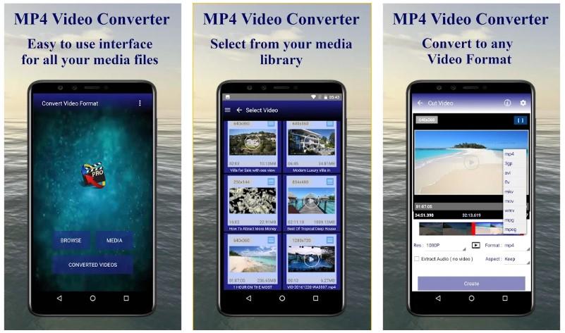 Convertidor de video MP4
