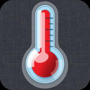 Aplicación de medición de temperatura Thermometer ++ para Android