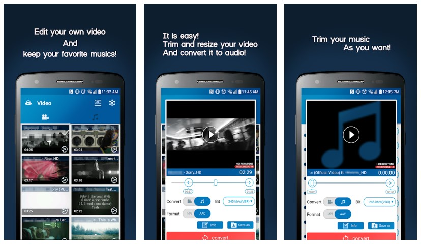Convertidor de video MP3