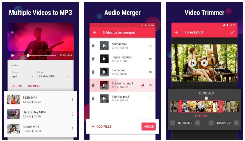 Convertidor de video a MP3 InShot