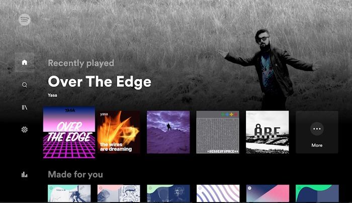 Las mejores aplicaciones de Android Tv Spotify