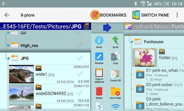 Las mejores aplicaciones de Android Tv X Plore File Manager